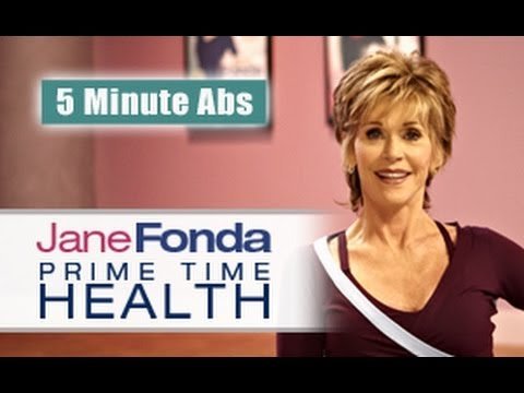 Jane Fonda: 5 Minute Abs  – Primetime Health