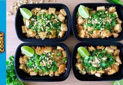 How to Meal Prep – Ep. 46 – PAD THAI (ONE POT MEAL)