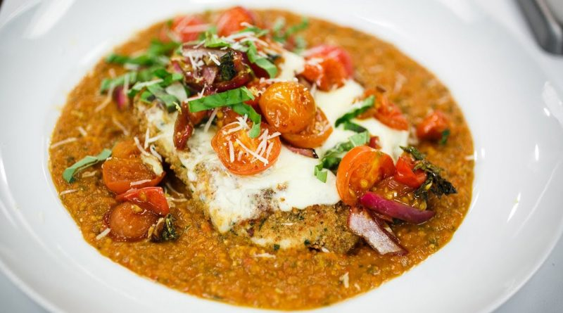 Recipe Rehab Season 1 Recipe How-To: Herb Chicken Parmesan With Roasted Cherry Tomato Sauce