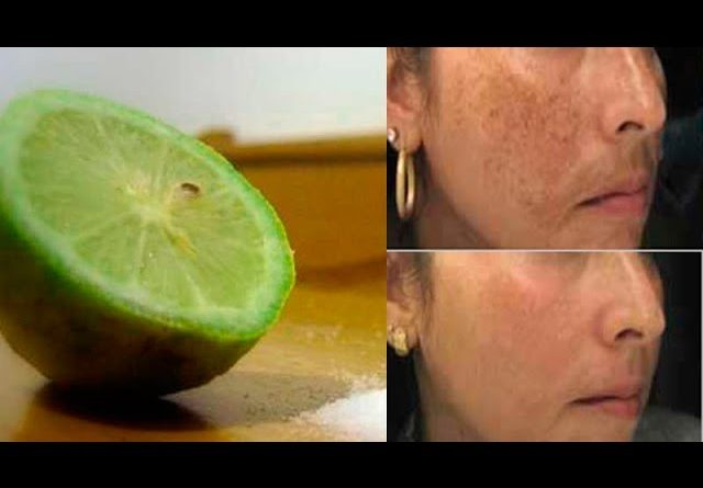 Put lemon and salt on your face; You'll hallucinate with the results