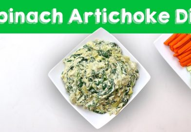 Vegan Spinach Artichoke Dip || Steph and Adam