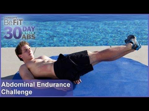 Abdominal Endurance Challenge | 30 Day 6 Pack Abs