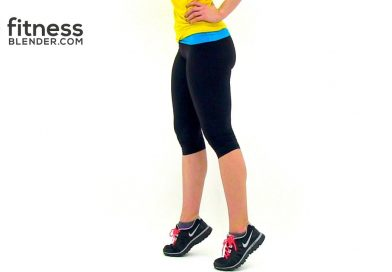 Quick Cardio Calf Workout at Home – Lower Body and Calf Exercises