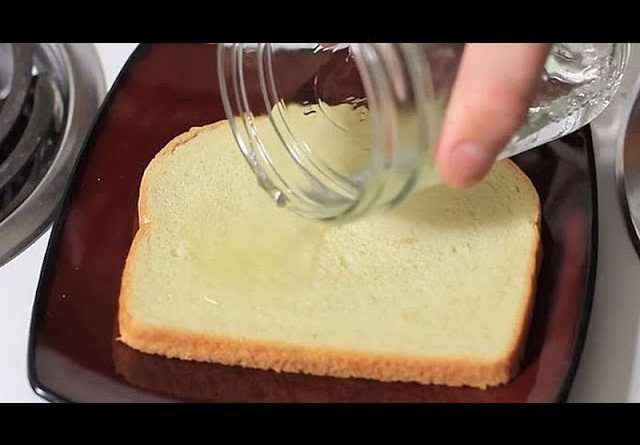 Put vinegar on the bread and throw it in the trash can, watch what happens the next day