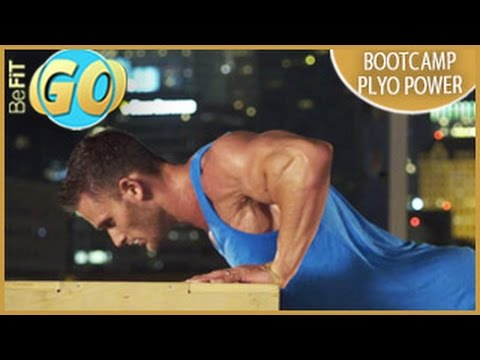 Bootcamp Plyo Power Workout: 15 Min- BeFiT GO