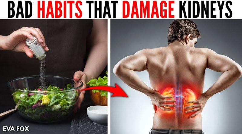 8 Bad Habits that Damage Your Kidneys