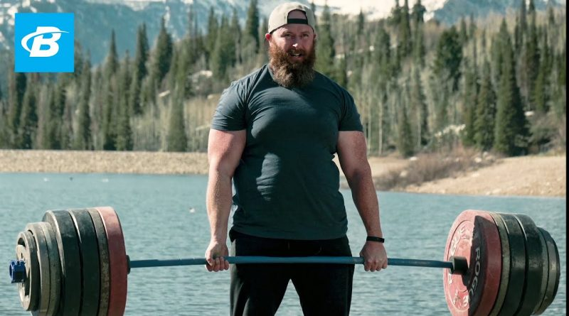 Deadlifting In The Wilderness to Cope With Anxiety | Discovery Deadlift Episode 1